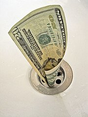 total tax paid, money down the drain